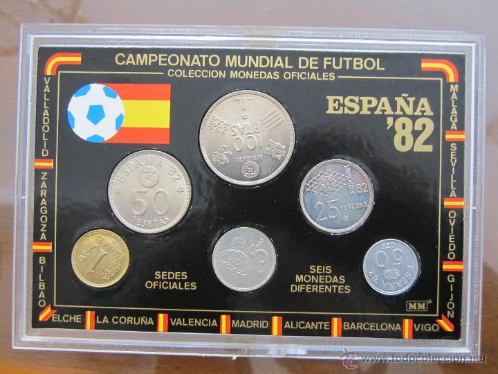 COLECCION DE MONEDAS (MUNDIAL ESPÑA 82) (Vintage - Decoración - Varios)