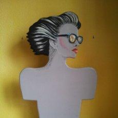 Vintage: ORIGINAL MANIQUÍ DE MUJER - BUSTO FEMENINO - AÑOS 80 - VINTAGE. Lote 43073542