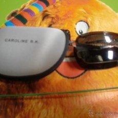 Vintage: GAFAS DE SOL PLEGABLES CAROLINA BK FOTO ADICIONAL. Lote 43152920