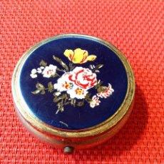 Vintage: CAJITA PASTILLERA DECORADA MADE IN JAPAN. Lote 43411513