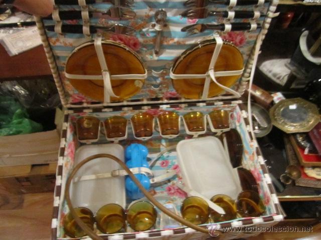 Maleta de ca a para picnic con platos y vasos d comprar - Platos para picnic ...