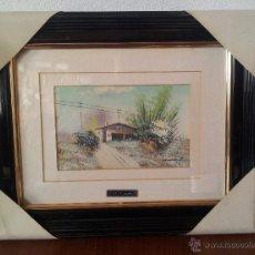 Vintage: CUADRO PINTURA . PAISAJE. Lote 43524371