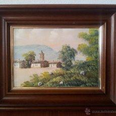 Vintage: CUADRO PINTURA . PAISAJE. Lote 43524504