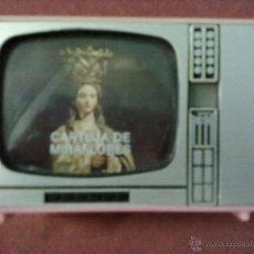 Vintage: VISOR DIAPOSITIVAS CARTUJA DE MIRAFLORES TELEVISOR. Lote 43630662