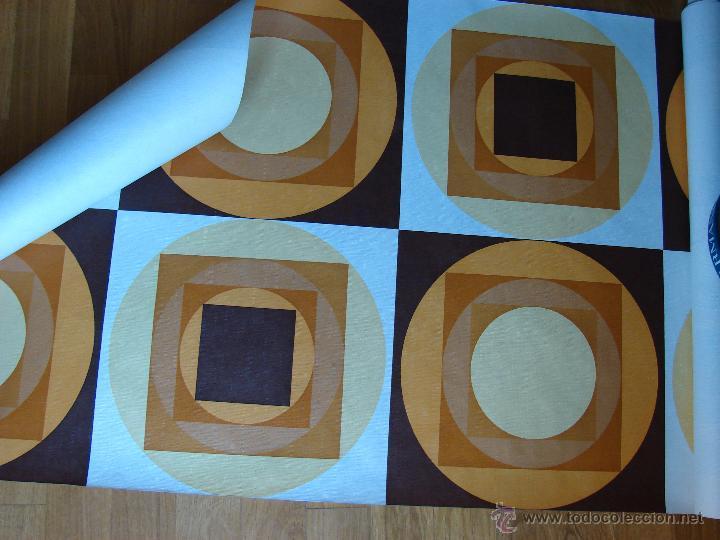Antiguo rollo de papel pintado original a os 6 comprar en todocoleccion 43737465 - Papel pintado anos 60 ...