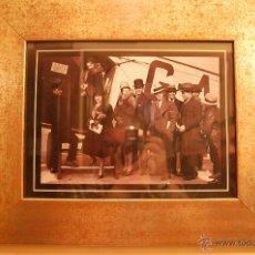 Vintage: REPLICA FOTO ANTIGUA, ENMARCADA. Lote 43742757