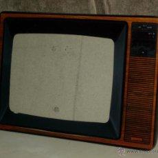 Vintage: CURIOSO PORTARETRATOS DE CRISTAL GRUESO, PORTADA TELEVISION DE LOS AÑOS 70.. Lote 44189992