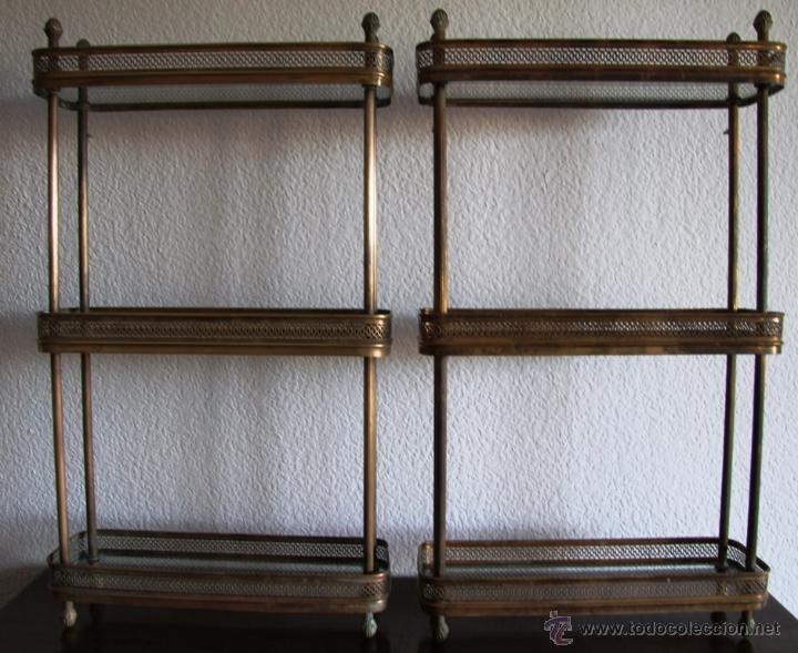 antiguo juego de estanterias de cuarto de baño - Comprar en ...