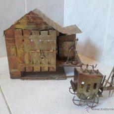 Vintage: CURIOSA CASITA MUSICAL EN LATÓN . Lote 44318010