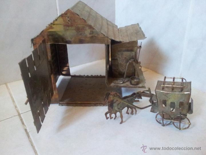 Vintage: Curiosa casita musical en latón - Foto 2 - 44318010