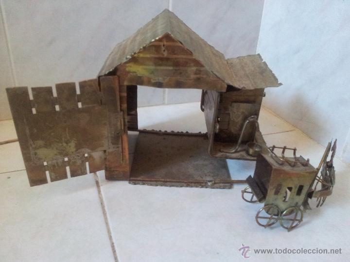 Vintage: Curiosa casita musical en latón - Foto 6 - 44318010