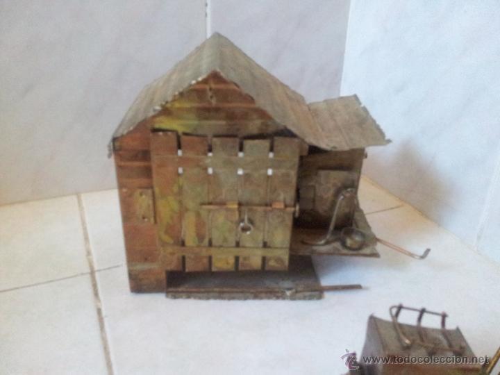 Vintage: Curiosa casita musical en latón - Foto 7 - 44318010