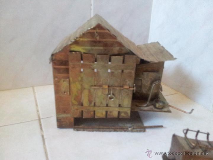 Vintage: Curiosa casita musical en latón - Foto 9 - 44318010