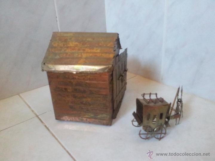 Vintage: Curiosa casita musical en latón - Foto 12 - 44318010