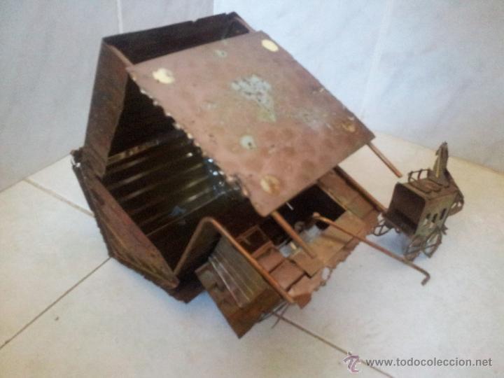 Vintage: Curiosa casita musical en latón - Foto 17 - 44318010