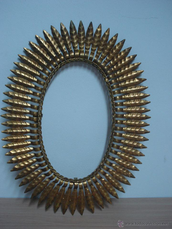marco para espejo ovalado años 60 - Comprar en todocoleccion - 44418241