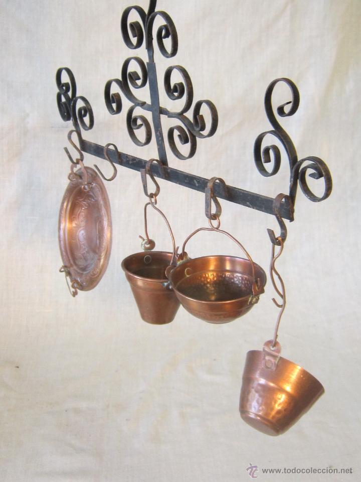 juego de utensilios de cocina pequeños en cobre - Comprar en ...