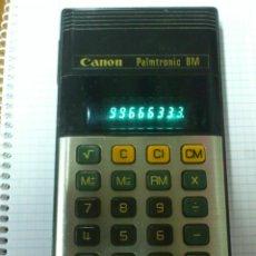 Vintage: CALCULADORA CANON PALMTRONIC 8M FUNCIONA. Lote 44965032