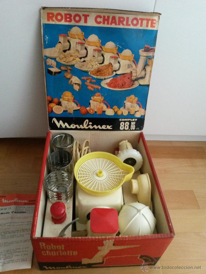 Antiguo Robot De Cocina Moulinex Charlotte 1962 Comprar En