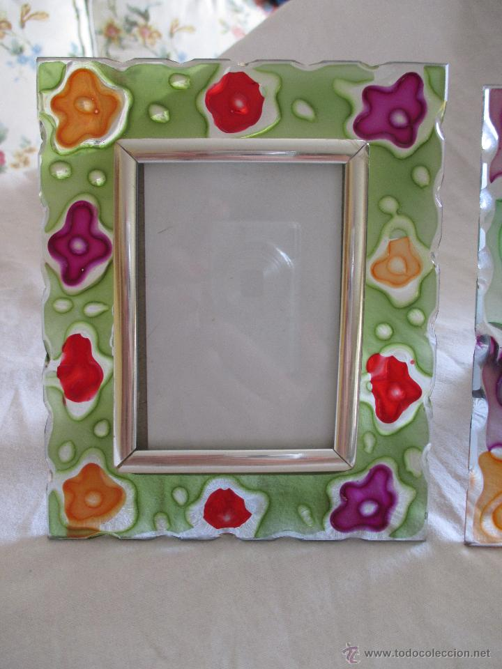 Lote de 3 marcos de cristal para fotos a os 80 comprar en todocoleccion 45122700 - Marcos de cristal ...