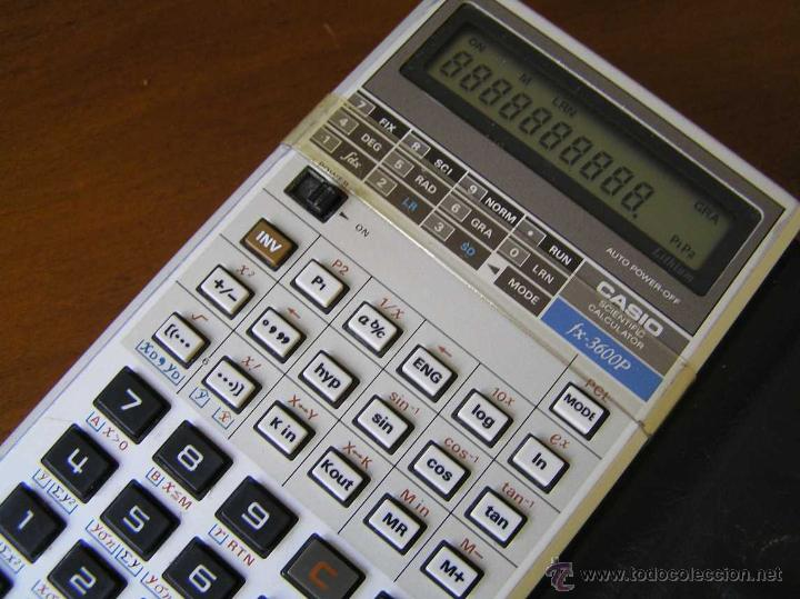 CALCULADORA CASIO FX-3600P SCIENTIFIC CALCULATOR (Vintage - Varios)