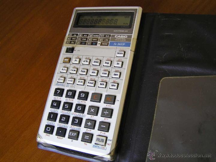 Vintage: CALCULADORA CASIO fx-3600P SCIENTIFIC CALCULATOR - Foto 3 - 118874331