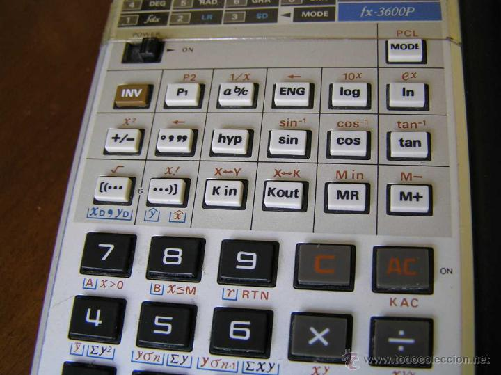 Vintage: CALCULADORA CASIO fx-3600P SCIENTIFIC CALCULATOR - Foto 19 - 118874331