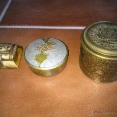 Vintage: COLECCION DE JOYEROS DISTINTOS MATERIALES. Lote 45367397