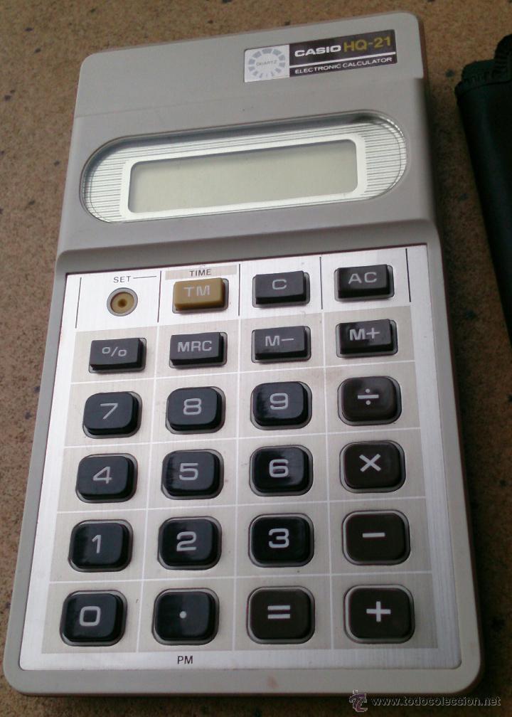 Vintage: Calculadora Casio HQ-21 Electronic Calculator - Foto 2 - 45672376