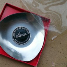 Vintage: CENICERO METAL PUBLICIDAD SIDOL . Lote 45684796