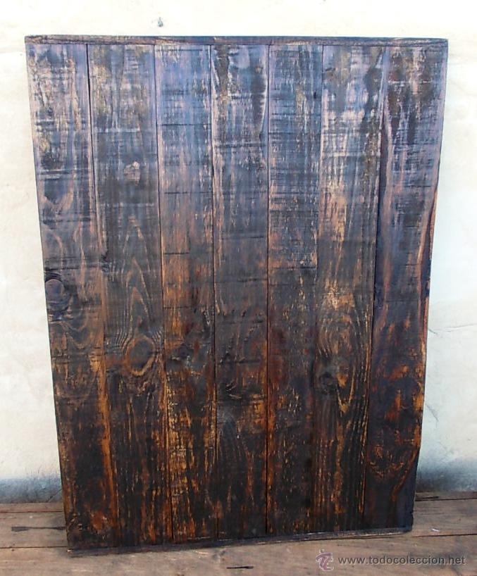 Tablero de madera simulacion mesa antigua di comprar - Tablero de madera precio ...