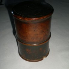 Vintage: CAJA ANTIGUA CILÍNDRICA. Lote 45776627