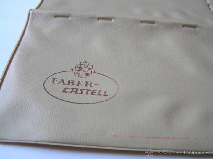 Vintage: 3 PLANTILLAS FABER CASTELL EN SU FUNDA Y 1 PLANTILLA STANDARDGRAPH - Foto 14 - 45844353