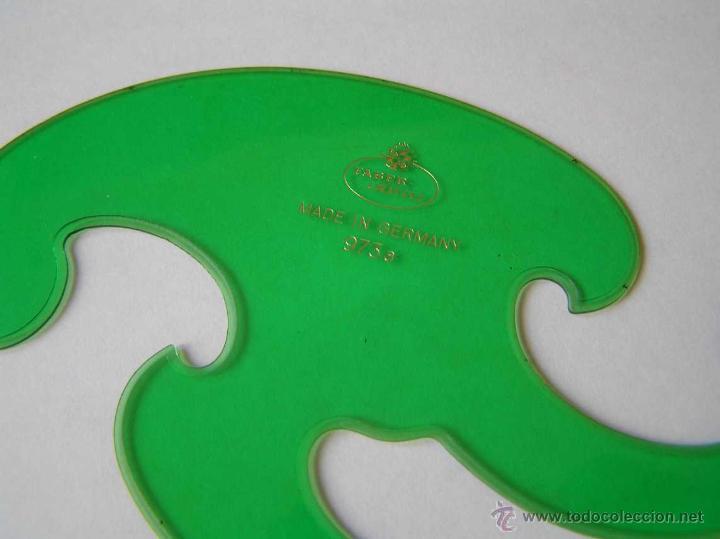Vintage: 3 PLANTILLAS FABER CASTELL EN SU FUNDA Y 1 PLANTILLA STANDARDGRAPH - Foto 19 - 45844353