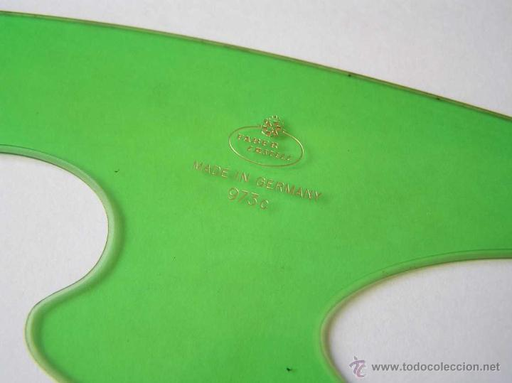 Vintage: 3 PLANTILLAS FABER CASTELL EN SU FUNDA Y 1 PLANTILLA STANDARDGRAPH - Foto 21 - 45844353