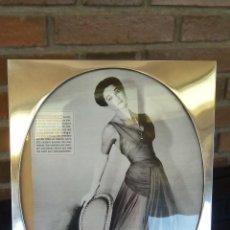Vintage: PRECIOSO MARCO DE PLATA AÑOS 60. Lote 45851917