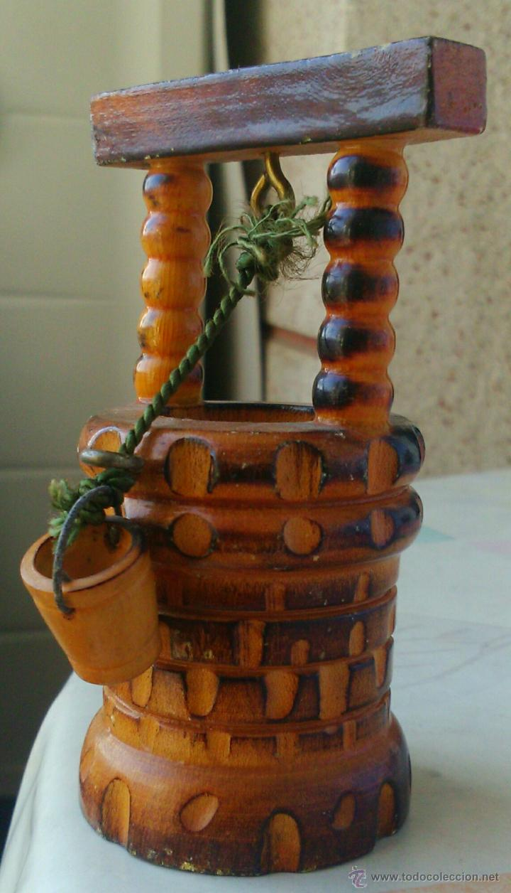 Antiguo pozo a escala talla de madera tibi comprar - Artesania barcelona ...