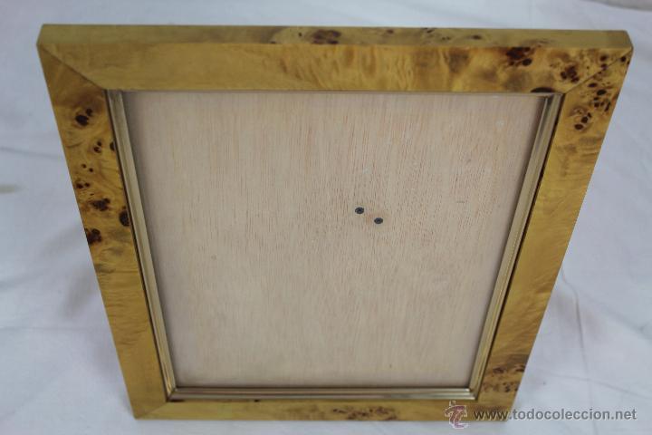 bonito marco para fotografia en madera color be - Comprar en ...