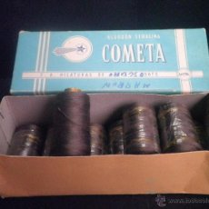 Vintage: CAJA HILOS COMETA DE HILATURAS FABRA Y COATS. Lote 46079839