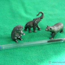 Vintage: ANIMALES MINIATURA METALICOS.. Lote 46298847