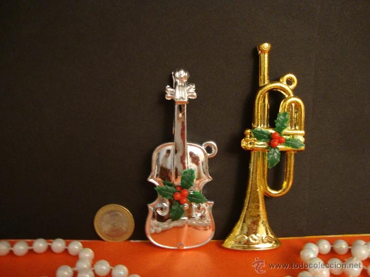 2 instrumentos musicales en color plata y oro p - Comprar en ...