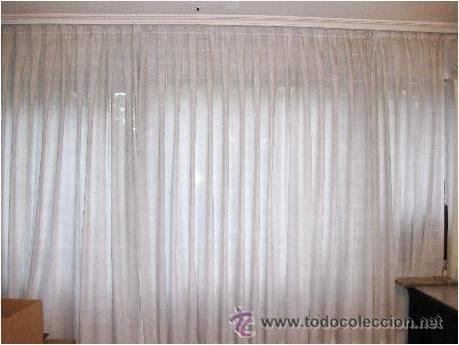 conjunto de 3 visillos / cortinas para gran ven   Comprar en