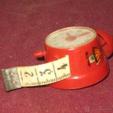 Vintage: RELOJ DESPERTADOR CON METRO. Lote 46457077
