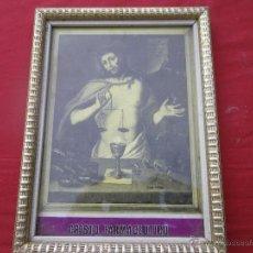 Vintage: ANTIGUO CUADRO CRISTO FARMACEUTICO . . Lote 46470635