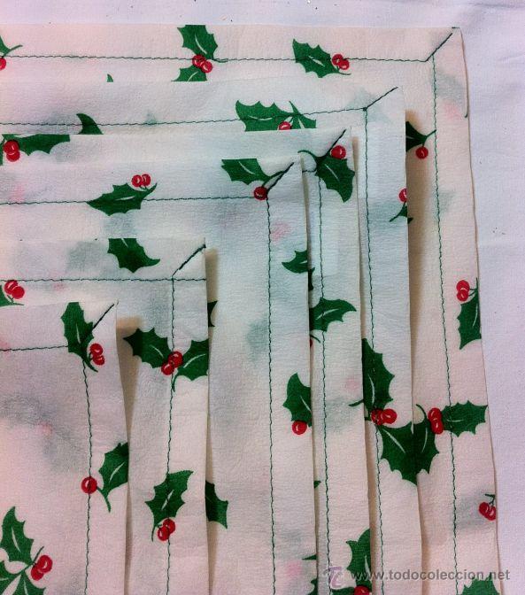 Decoraci n de navidad 6 servilletas comprar en for Decoracion de servilletas