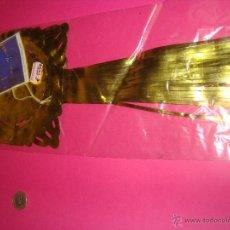 Vintage: DECORACION NAVIDAD CADENETA COLOR DORADO METALIZADO....AÑOS`70 APROX. Lote 188827006