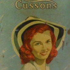 Vintage: LATA BOTE DE TALCO CUSSONS DREAM GIRL. Lote 46959389