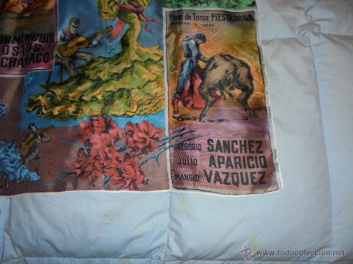 Vintage: PAÑUELO VINTAGE CON MOTIVOS TAURINOS - Foto 3 - 46988275