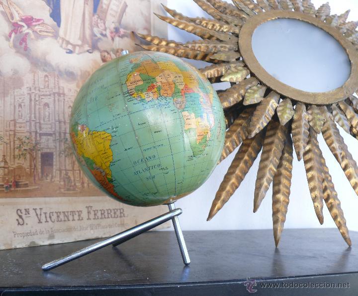 Preciosa bola del mundo globo terraqueo dalmau comprar en todocoleccion 46990243 - Bola del mundo decoracion ...