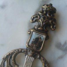 Vintage: ESPADA ABRECARTAS CUENCA ESCUDO. Lote 47053007
